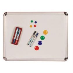 9x12'' Magnetic Wipe-Off Board Double Sided