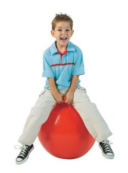 15'' Jumping Hoppity Ball with Handle Not Inflated