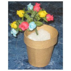 School depot paper mache clay pot 2x2 mightylinksfo Image collections