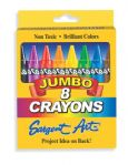 Sargent Art Large Crayons