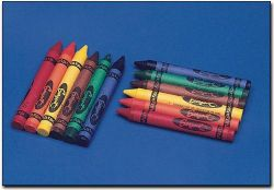 8 Color Sargent Crayons