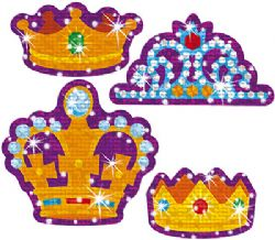 Small Dots Crown Stickers