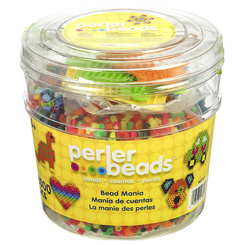Group Pack Bucket Perler Beads 8,500 Pc.
